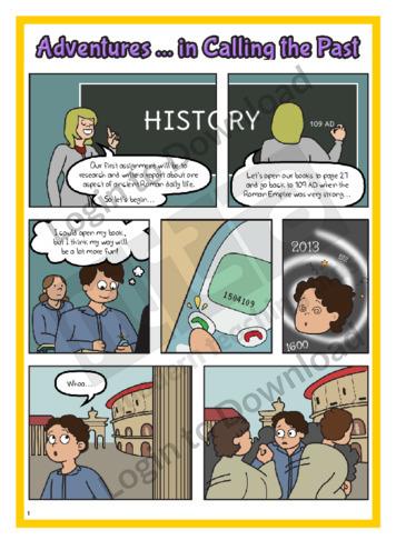 Comic Adventures…in Calling the Past