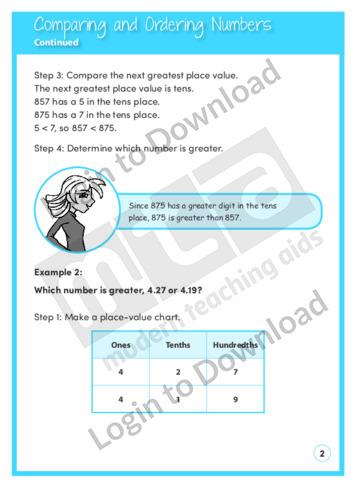103549E01_NumberandNumericalOperationsComparingandOrderingNumbers02