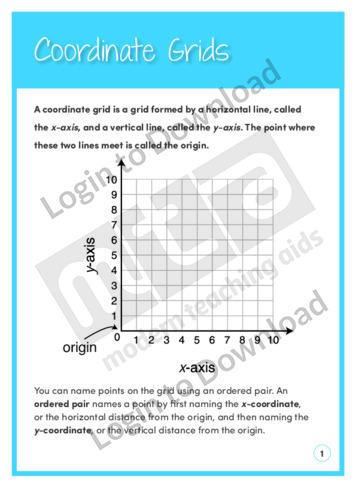Coordinate Grids (Level 4)