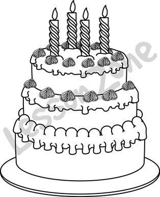 104855Z01_Birthday_cake_BW01