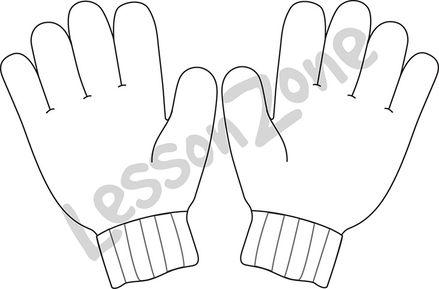 Gloves B&W