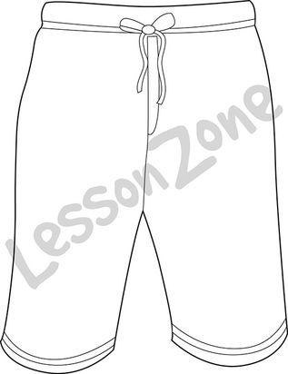 Board shorts B&W
