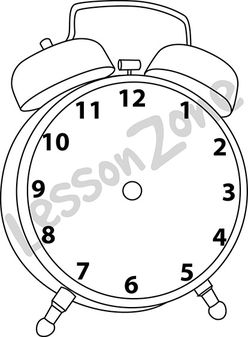 Alarm clock B&W
