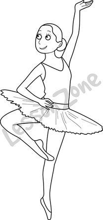 Dancer B&W