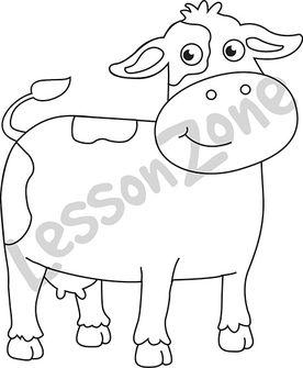 Cow  B&W