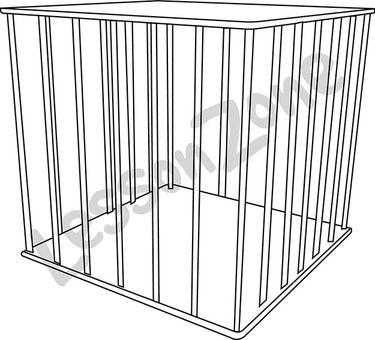 Cage B&W