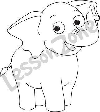 Elephant  B&W