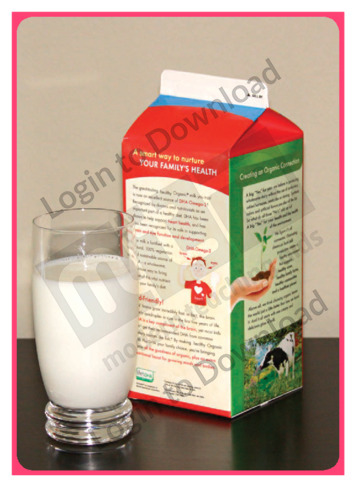 Let's Talk About: Milk