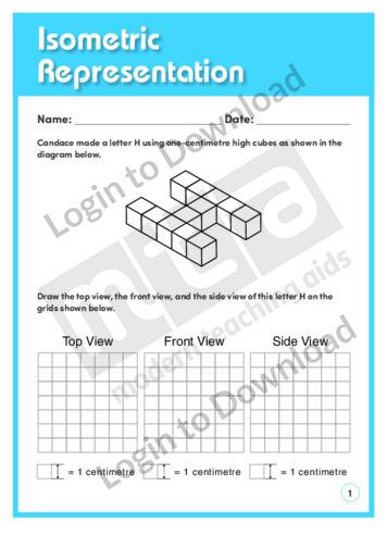 Isometric Representation 2