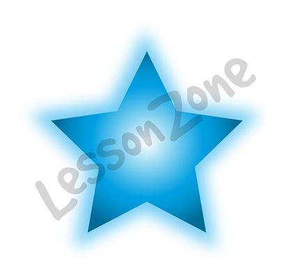Star with glow