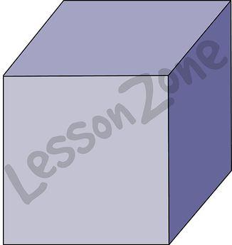 3D shape cube