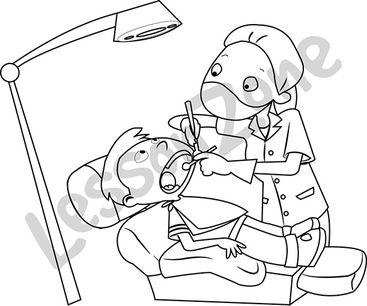 Dentist B&W