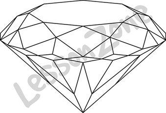 Crystal gem B&W
