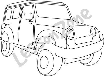 Jeep B&W