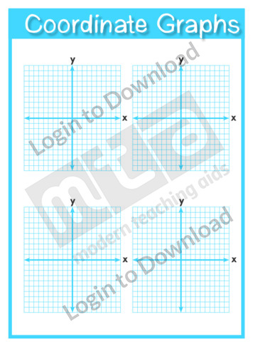 Coordinate Graphs Template