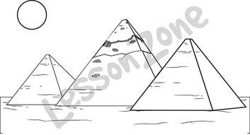 Pyramid Giza B&W