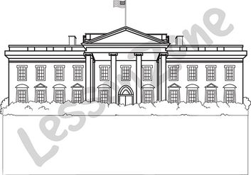 The White House B&W