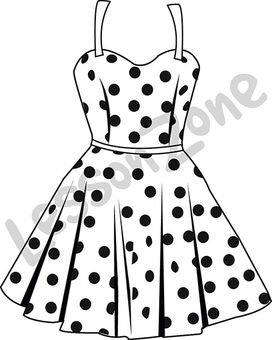 Dress B&W