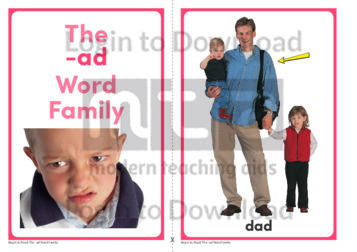 The -ad Word Family