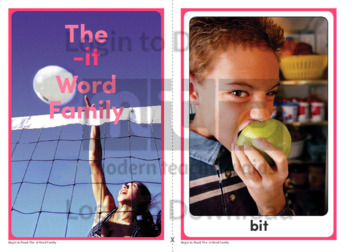 The -it Word Family