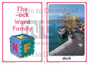 The -ock Word Family