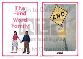 The -end Word Family