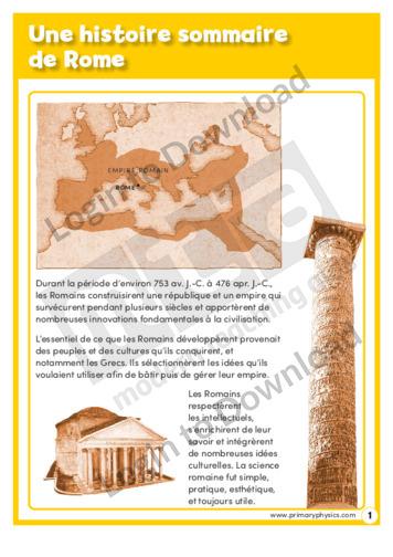 107896F01_HistoireUnehistoiresommairedeRome01