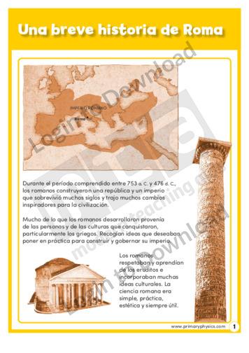 107896S03_UnabrevehistoriadeRoma01