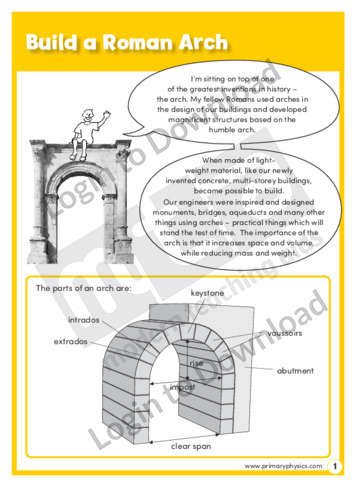 Build a Roman Arch