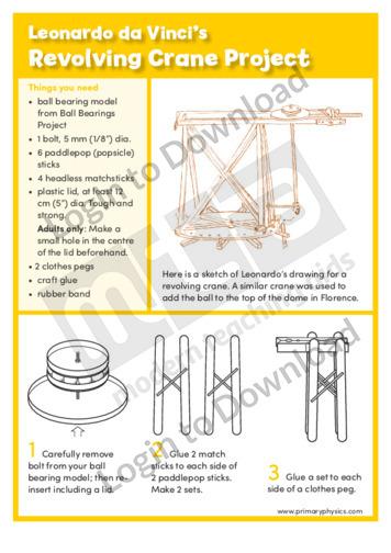 Revolving Crane Project