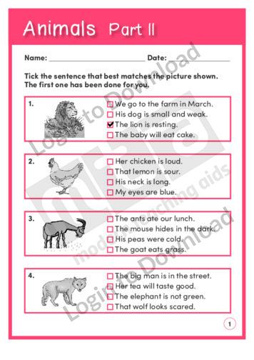 Animals Part II