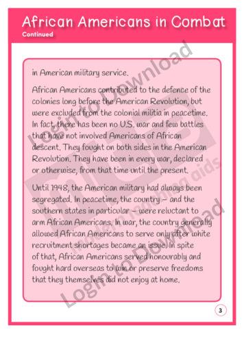 108481E02_ReadingComprehensionAfricanAmericansInCombat03