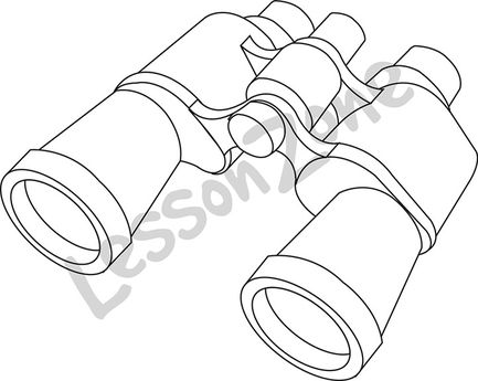 Binoculars B&W