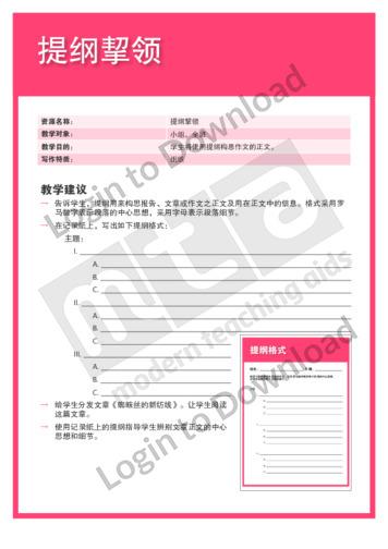 108850C02_写作特质组织提纲挈领01