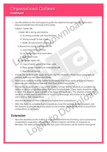 108850E02_WritingTraitsOrganisationOrganisationalOutlines02
