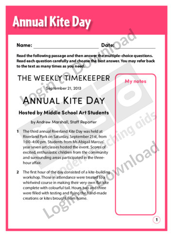 Annual Kite Day