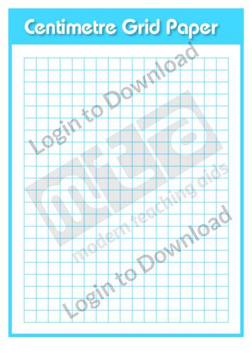 Centimetre Grid Paper