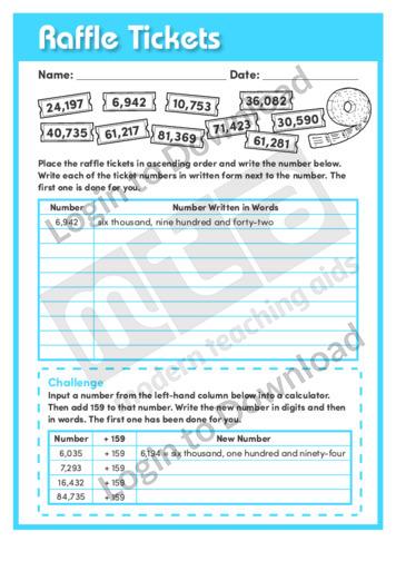 Raffle Tickets (Level 5)