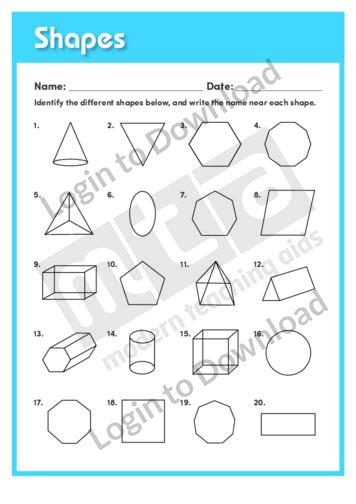 Shapes (Level 5)