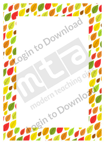 Autumn Leaves (border)