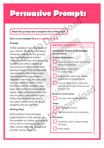 Persuasive Prompts (Level 7)