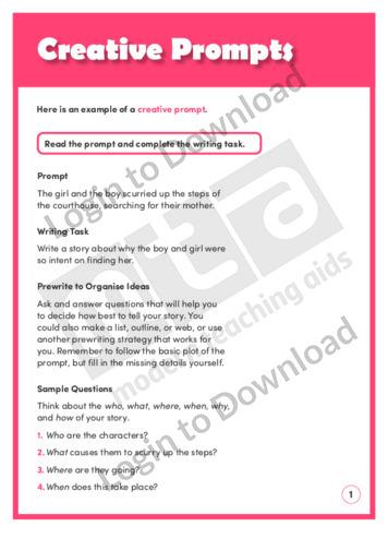 Creative Prompts (Level 8)