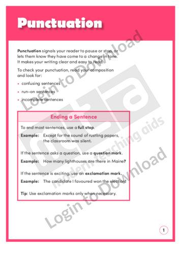 Punctuation (Level 8)