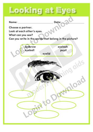 Looking at Eyes