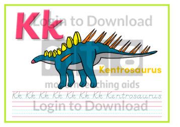K: Kentrosaurus