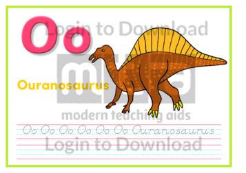 O: Ouranosaurus