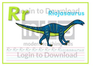 R: Riojasaurus
