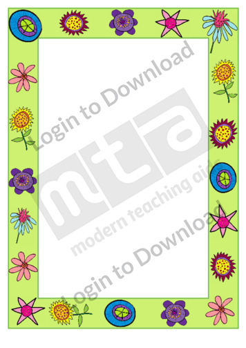 Flowers (border)
