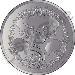 Australia, 5c coin