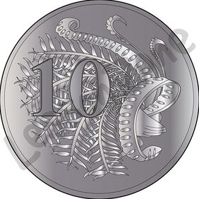 Australia, 10c coin
